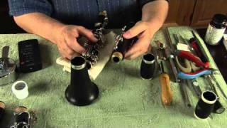 clarivid 83 how to assemble the clarinet correctly