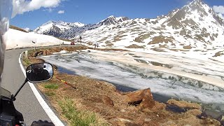 Alps - Gavia Pass / Europe motorcycle trip part 11