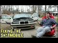 FIXING MY MESS OF A CAR! BMW E36 325i
