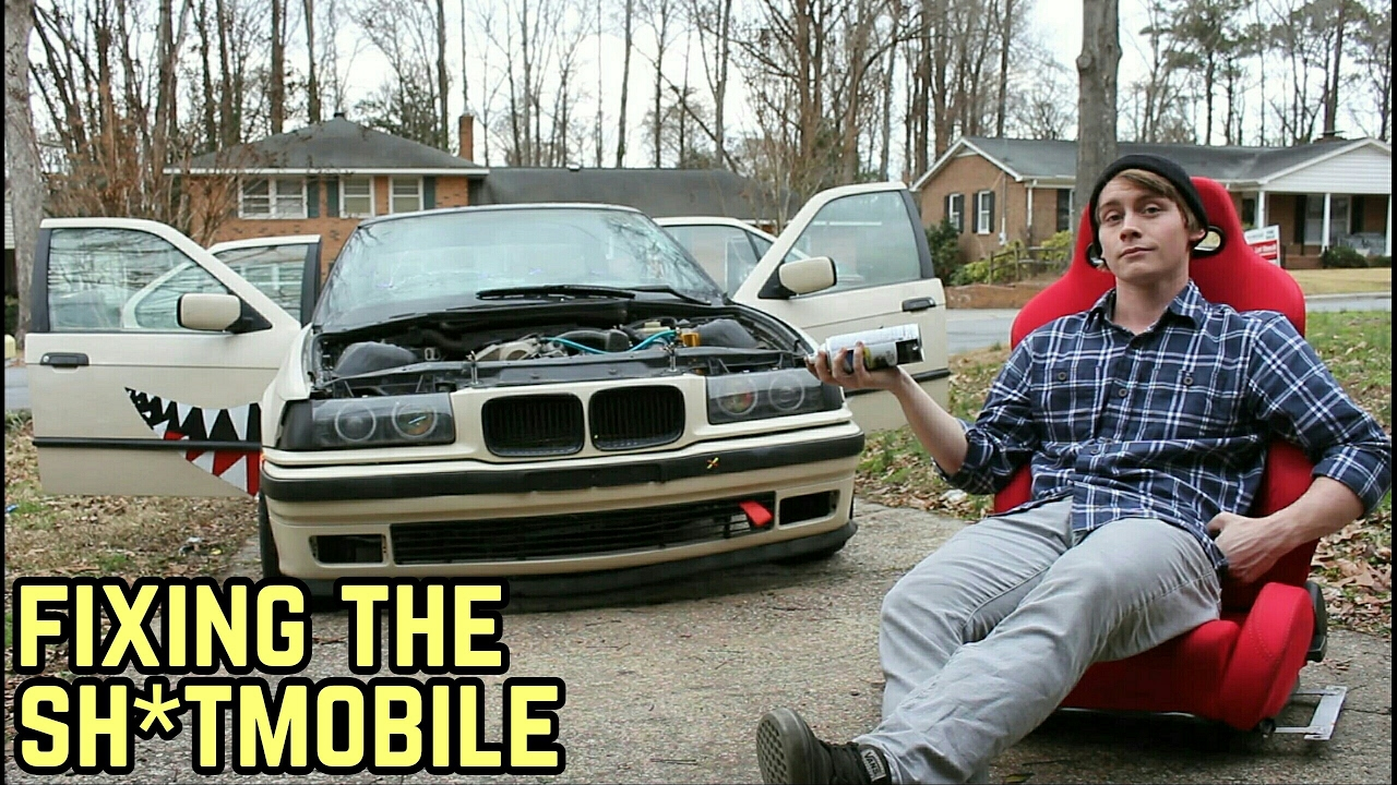 fixing my mess of a car bmw e36 325i youtube. Black Bedroom Furniture Sets. Home Design Ideas