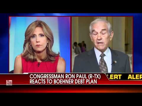 Ron Paul on FOX News: Let's Admit It, the Country Is Bankrupt!
