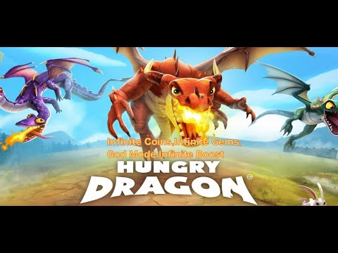 Download Hungry Dragon Hack(Infinite Coins,Gems)for free on iPhone & iOS