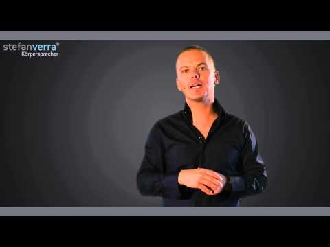 Körpersprache Tipps - Hände sichtbar - Stefan Verra