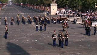 French Police Crash During Bastille Day Parade