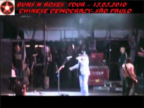 Guns N' Roses – Tour Chinese Democracy – São Paulo – SP – Legenda