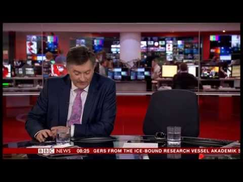 BBC News (Breakfast) rushed rehearsal