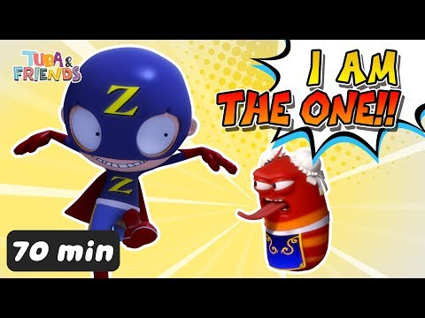 I'M THE ONE!! | TUBAn Friends Compilation | Best Video | Larva and Vicky & Johnny