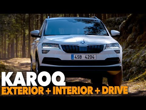 Skoda KAROQ 2017 - EXTERIOR + INTERIOR + FIRST DRIVE   Better than New VW Tiguan and Seat Ateca ?