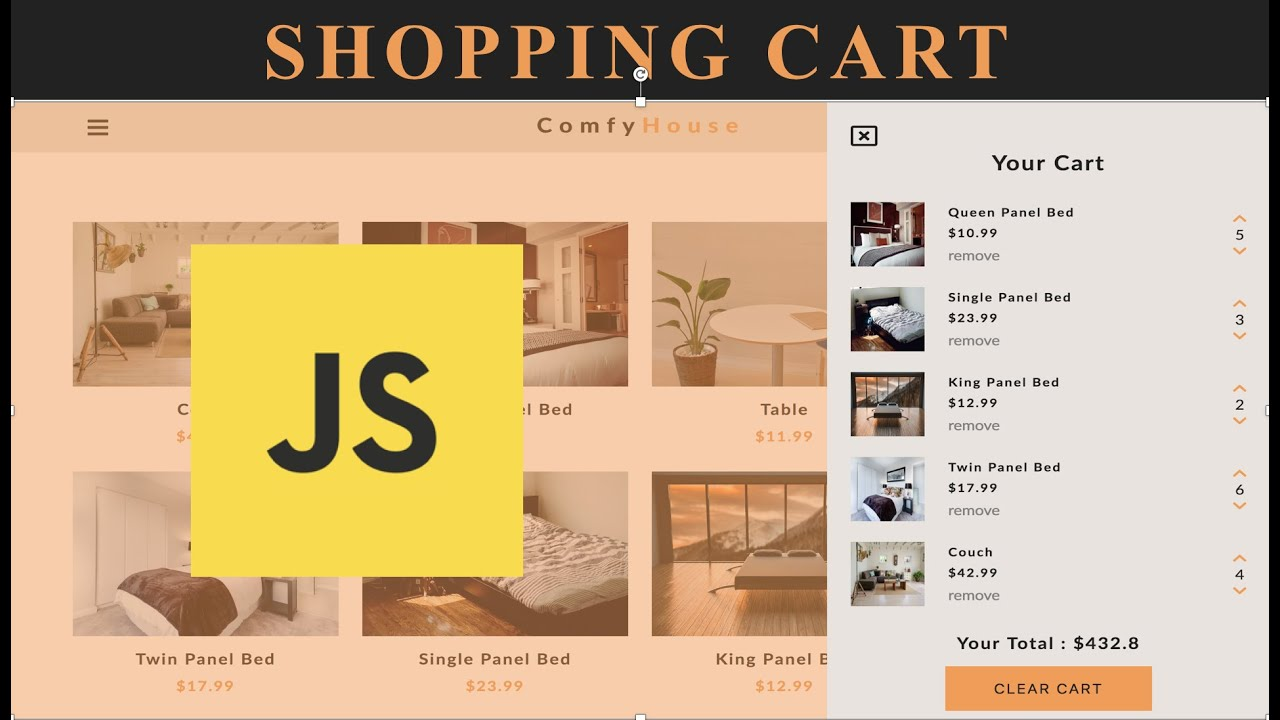 Javascript Projects - Shopping Cart