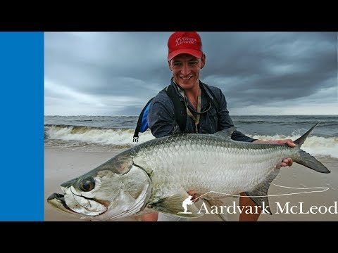 Tarpon Fishing at Sette Cama Camp, Gabon