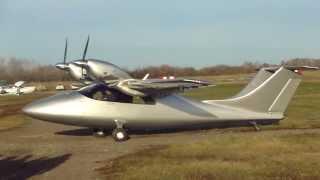 Мягкая посадка С-44Ф (летные испытания)