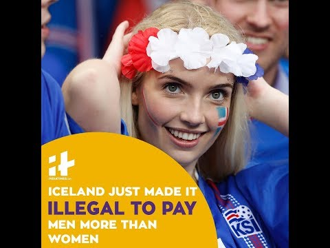 Indiatimes - Illegal To Pay Men More Than Women In Iceland | Equal Pay For Women