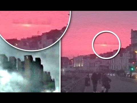 Mass UFO Sightings Of The Floating Cities