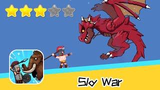 Sky War Walkthrough Arrow Hero Recommend index three stars