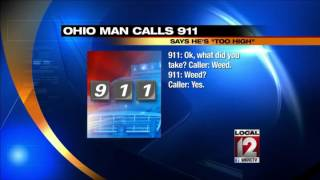 Ohio man calls 911, says he