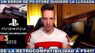 ¡¡¡SI TIENES PS4,ESTO TE VA A GUSTAR!!!  Hardmurdog - Retrocompatibilidad - Ps3 - E3 2018 - Español