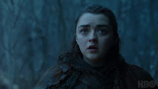 Game of Thrones: Season 7 Episode 2 Clip: Arya and Nymeria (HBO)