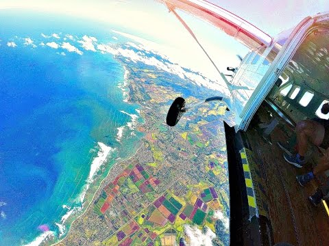 Skydive at the World's Most Beautiful Dropzone! The best Experience of my Life!