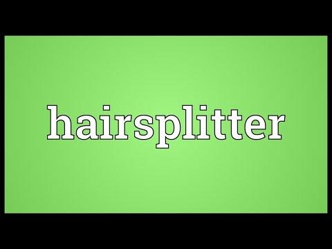 Header of hairsplitter
