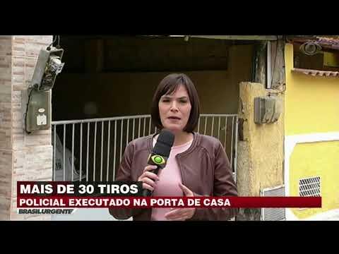 Policial é morto a tiros na porta de casa no RJ