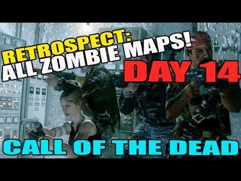 Day 14: Call Of The Dead pt 2(Ensemble Cast Achievement) RETROSPECT Zombies Maps Countdown!