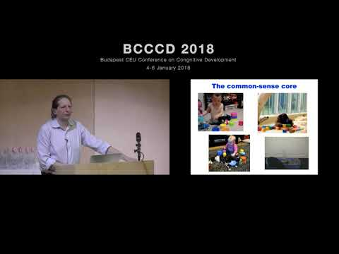 BCCCD 2018 - Joshua Tenenbaum: Reverse-engineering the core of human common sense