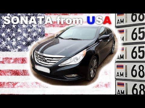 SONATA From USA - Ремонт 2.4 GDI