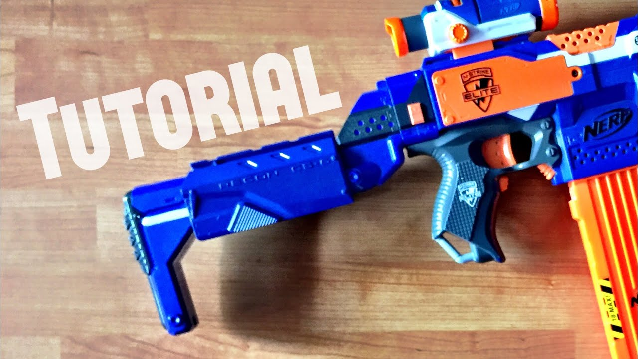 [TUTORIAL] How to extend a Nerf Retaliator stock attachment