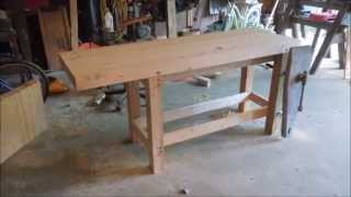 Building A New Workbench - Wrap Up - A Video Tutorial By Old Sneelock's Workshop