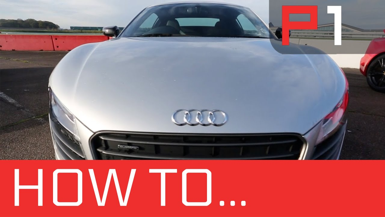 How To Transfer Weight Braking Accelerating Audi R8 Race