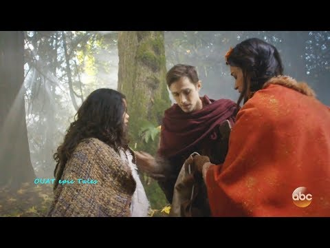 Once Upon A Time 7x10  Lucy Meets Tiger Lily -Henry Lets Lucy Go To Escape Curse Season 7 Episode 10