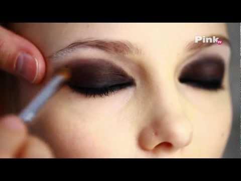 Макияж smoky eyes (смоки айс, дымчатые глаза) видео урок