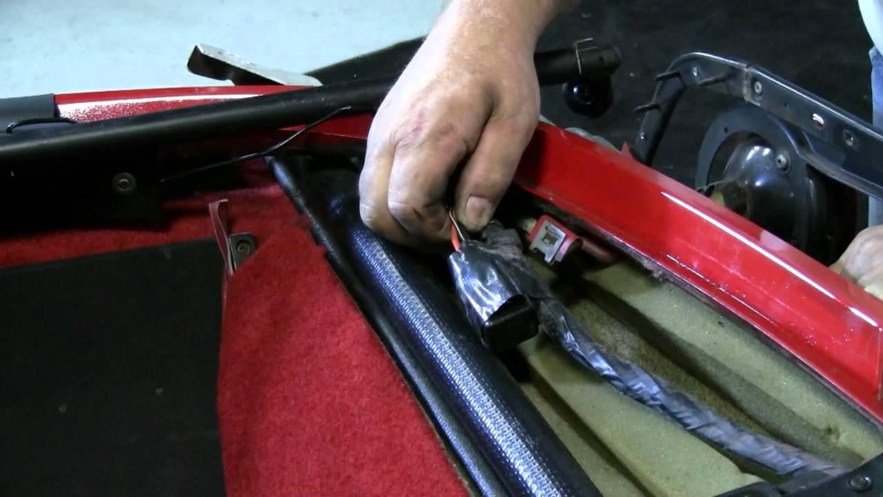 C4 Corvette Cutaway Defog Relay - YouTube