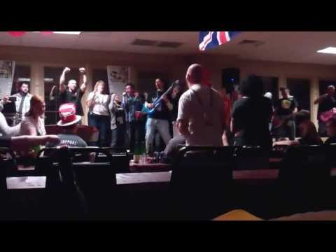 SSM does group Karaoke @ MOTD 2013