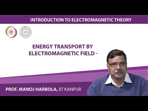 Energy transport by electromagnetic field -