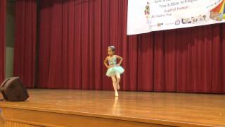 Frozen Let It Go - Ballet Performance by 5yr.old Jewel Jacey