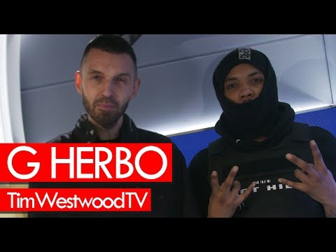 G Herbo on Chicago Chief Keef 6IX9INE drill 4 Minutes of Hell - Westwood