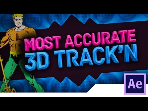 [TUTORIAL] How to QUICKLY 3D MOTION TRACK TEXT/VIDEO/IMAGES in ADOBE AFTER EFFECTS CS6/CC 2014/2015