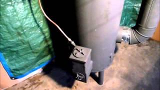 Rocket Heater Part 1 Of 2