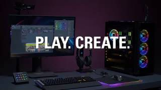 PLAY. CREATE. ELGATO GAMING JOINS CORSAIR
