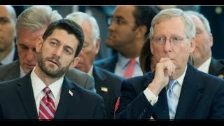 FROM BAD TO WORSE!  PAUL RYANS APPROVAL RATING DROPS TO 35%, MITCH MCCONNELL'S DROPS TO 25%!