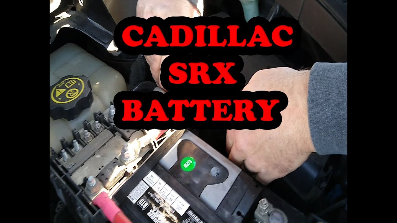 cadillac srx battery replacement dead