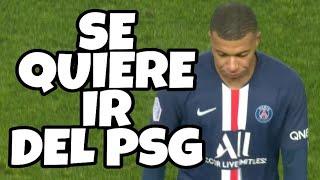 ENFADO de MBAPPE con TUCHEL (entrenador del PSG) tras ser CAMBIADO | viene al Real MADRID? | HOY
