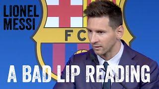 """Lionel Messi über Hamburg & Mömmeln (A """"Bad Lip Reading""""-Short)"""