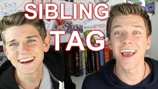 THE SIBLING TAG | COLLINS KEY Ft. DEVAN KEY