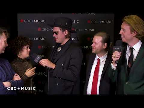 Arcade Fire talk alternative careers - Interview at the 2018 JUNO Awards
