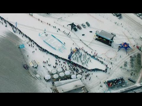 Bayerischer Skibersteiger-Star Toni Palzer beim 5. Rise and Fall im Zillertal