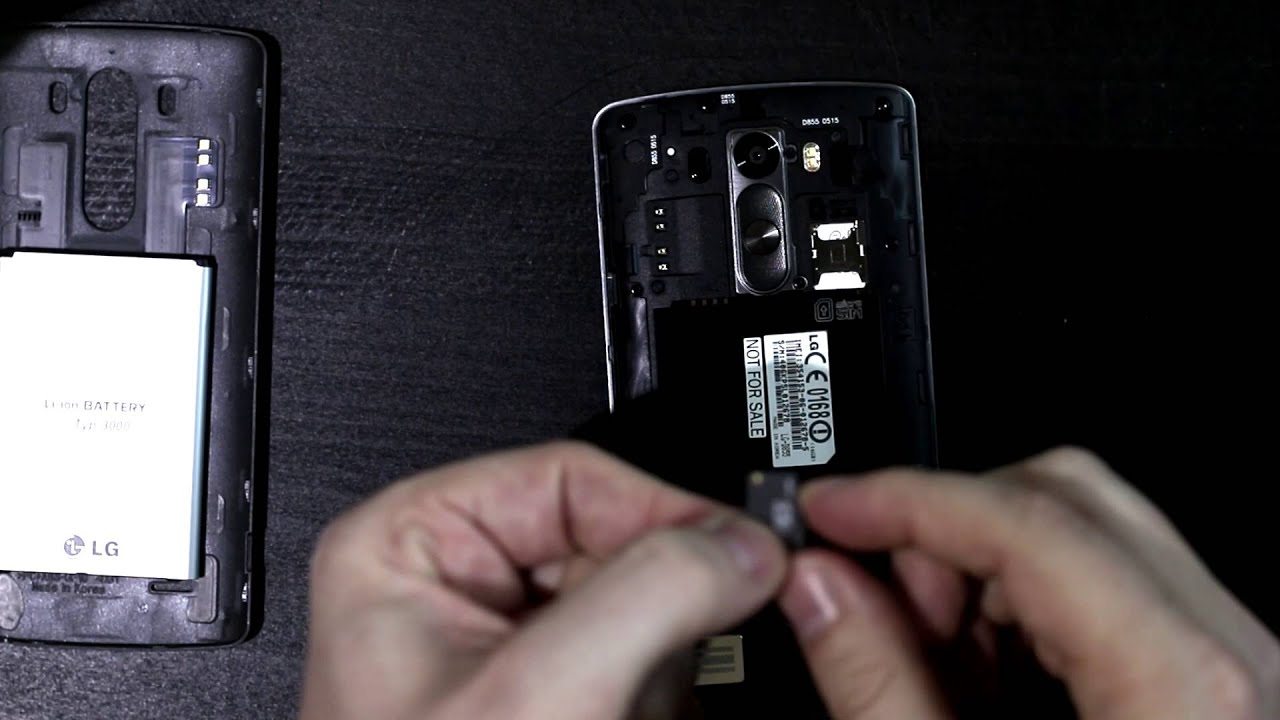 do all lg phones have sim cards