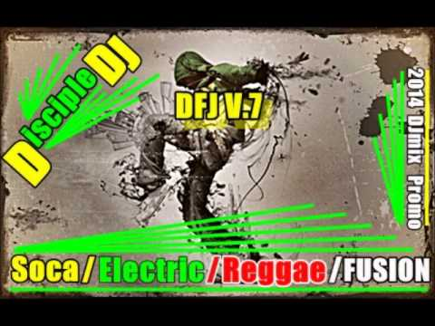 GOSPEL SOCA PRAISE @DiscipleDJ 2014 MIX EDM Reggae Fusion Promo