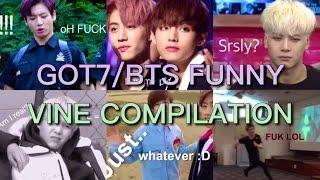 got7 bts funny vine compilation   suga bb